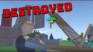 PUB-STOMPING in Strucid Fortnite (Roblox Fortnite)
