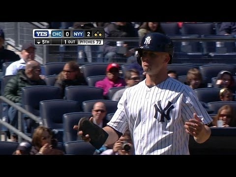 Yankees decline interference, run scores