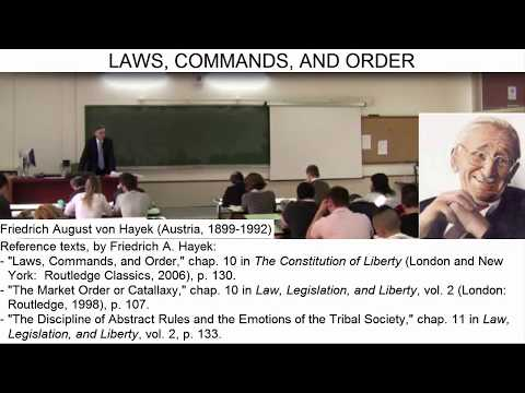 Day 35 (video 1) - The Difference between a LAW and a Command