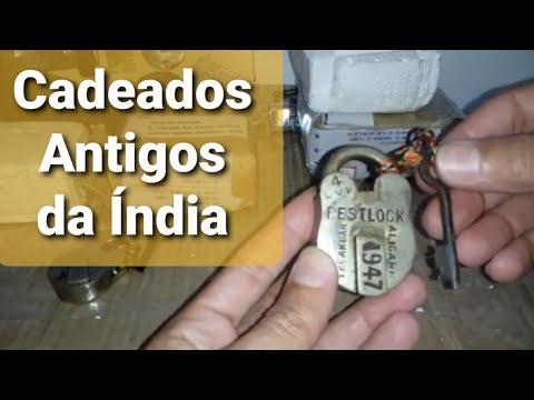 Cadeado Antigo da Índia