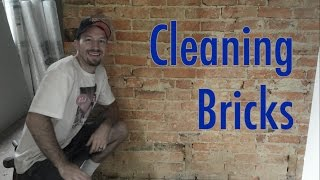 Cleaning Brick--Angle Grinder Vṡ Wire Brush