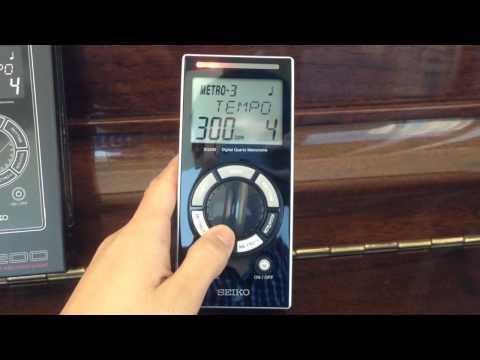 Seiko SQ-200 Digital metronome