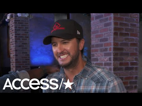 Luke Bryan Recalls The First Time He Saw His Wife In A Bar: 'I Was Like Hold Up Guys…' | Access