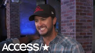 Luke Bryan Recalls The First Time He Saw His Wife In A Bar: 'I Was Like Hold Up Guys…'   Access