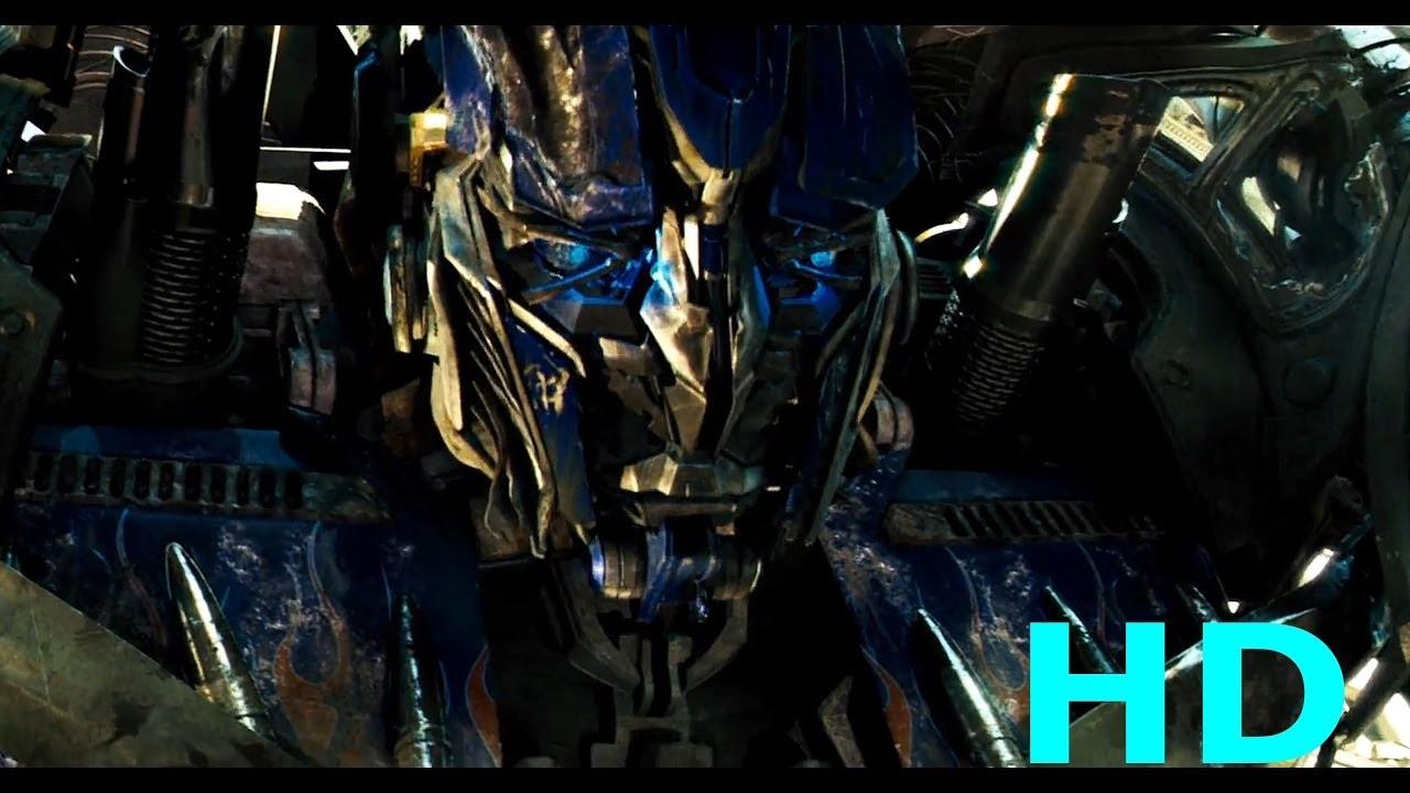 optimus prime vs megatron final battle transformers