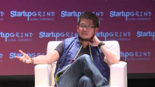 Steven Chen (YouTube; Google Ventures) and Bridgette Beam (GFE) at Startup Grind Global 2016