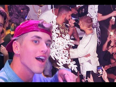 PARTYING WITH JUSTIN BIEBER