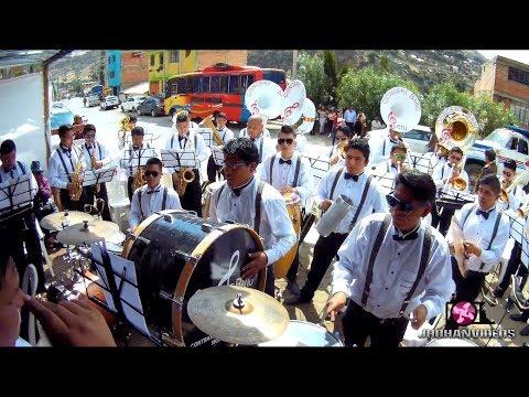 MIX ANTOLOGIA - ALEJATE - CONCERT BAND PERU - QUECHCAP 2017