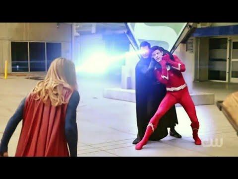 😨😱 Hollywood Action Black Superman vs Supergirl 😨