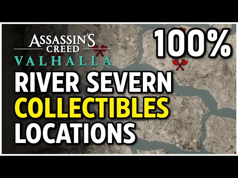 Assassin's Creed Valhalla - River Severn: All Collectibles (River Raids)