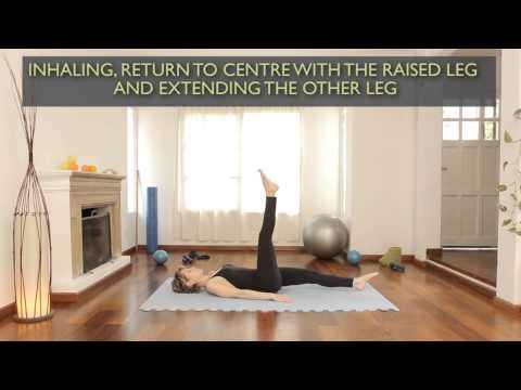 How to do single-leg circle exercises: Pilates Exercises 3
