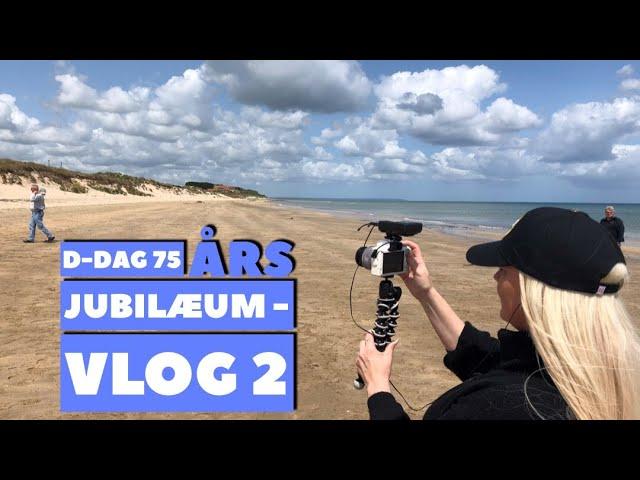 D-Dag 75 års jubilæum - Vlog 2 - Utah Beach og den tyske kirkegård La Cambe
