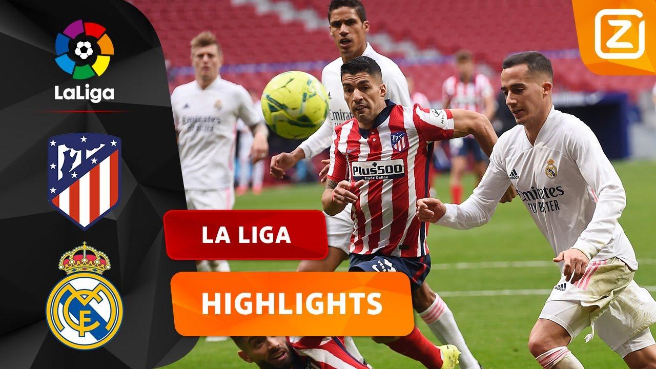 DE DERBY VAN MADRID! ⚔️🇪🇸 | Atlético vs Real Madrid | La Liga 2020/21 | Samenvatting