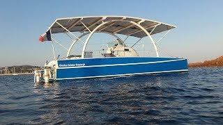 Catamaran électrique test 200km
