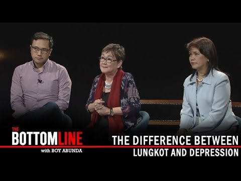 """The Bottomline: The difference between """"Lungkot"""" and Depression"""