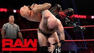 Cedric Alexander & The Viking Raiders vs. The O.C.: Raw, Sept. 16, 2019