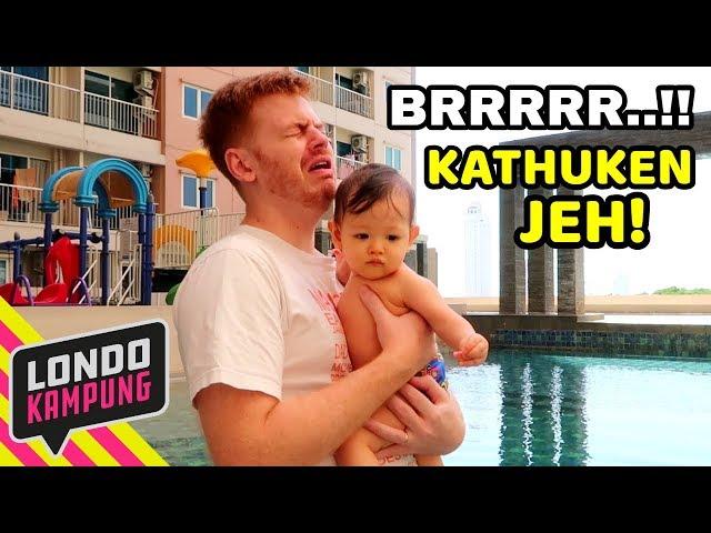 Londokampung dan Baby Jago RENANG PERTAMA KALI!