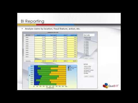 Quebit Advanced Analytics Insurance Fraud Webinar
