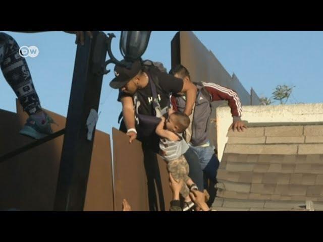Aumenta el número de migrantes cruzando la frontera