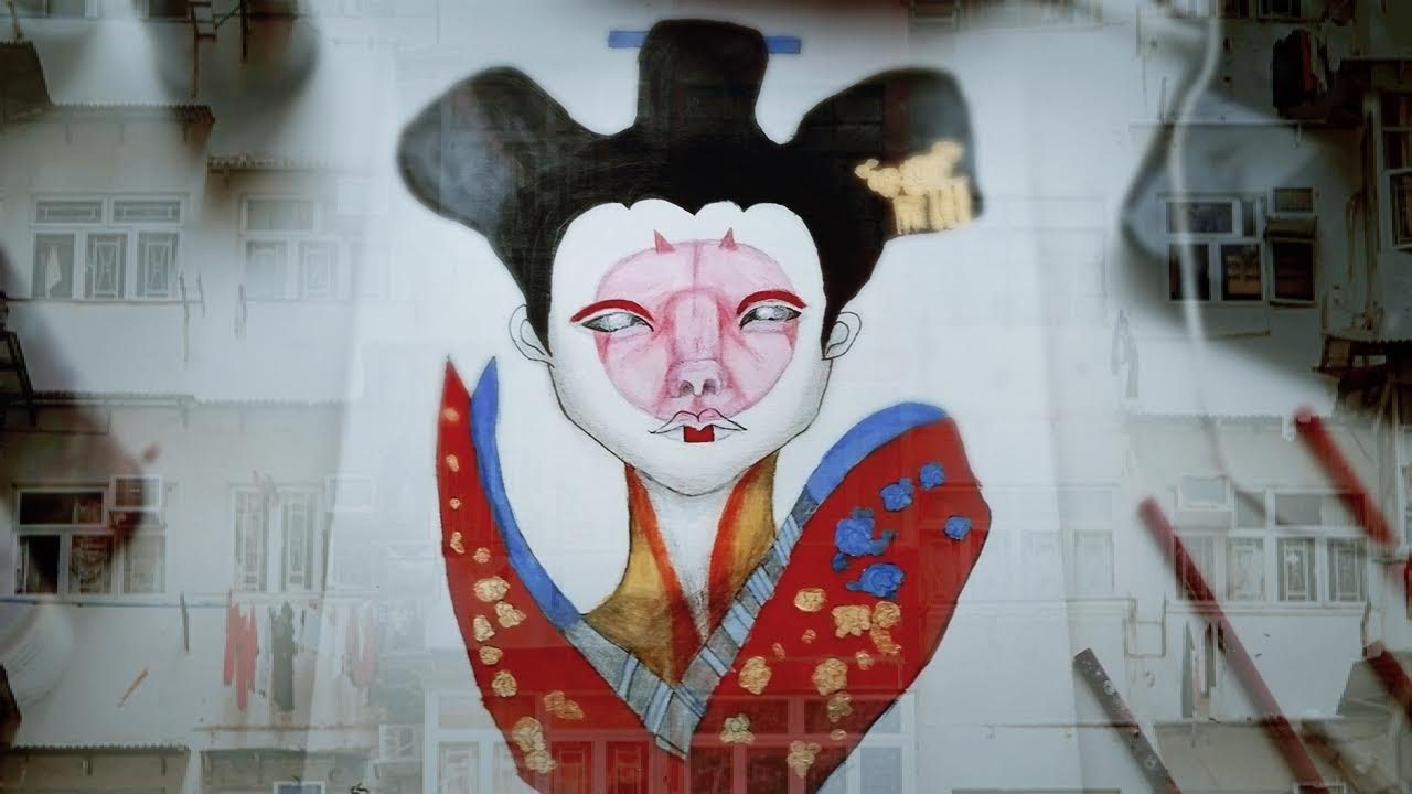 ghost in the shell robot geisha fanart youtube. Black Bedroom Furniture Sets. Home Design Ideas
