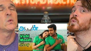 Vizhi Moodi - Song | Ayan | Suriya | Tamannah | KV Anand | REACTION!!