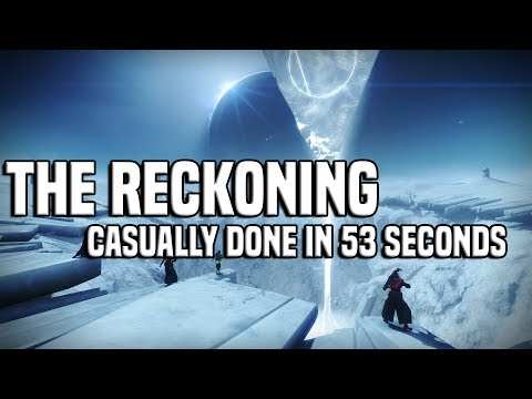 "Super Casual 53 Second ""The Reckoning"" Clear 
