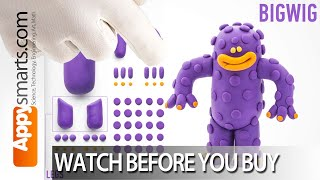 Hey Clay Monsters: Make Big Wig - Watch Before You Buy Video for Parents and Teachers