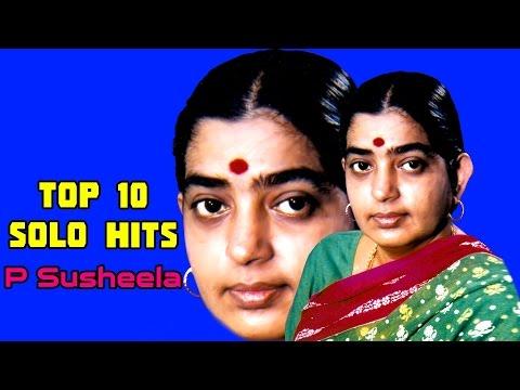 Top 10 Melodies of P Susheela   Malayalam Movie Audio Jukebox