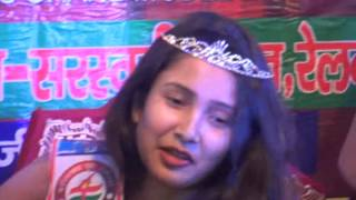 vuclip FYM-MISS GRAND INDIA-2016/MISS MEHULY SARKAR-KOLKATA-WEST BENGAL-WINNER/CROWN CEREMONY