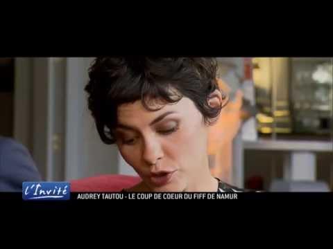 """Audrey Tautou au FIFF de Namur : """"La gloire m'a fait peur après Amélie"""""""