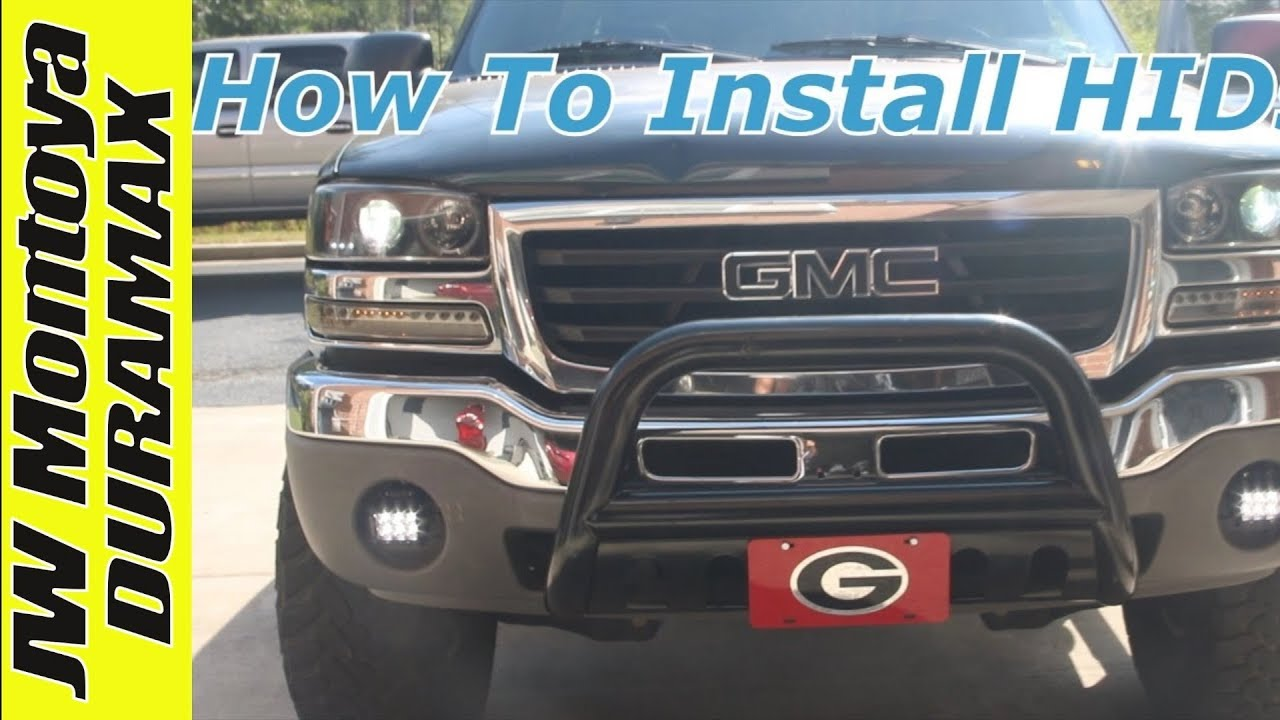 How To Install Hids Headlights On 2004 Gmc Sierra