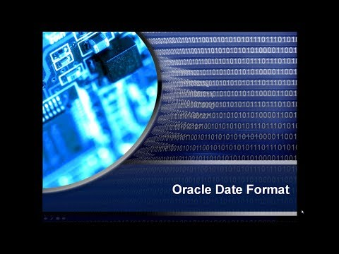 Oracle sql to_date format examples