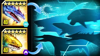 New Sea Monster Aquatic Matchup Event  - Jurassic World The Game
