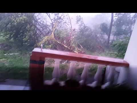 During hurricane Irma in Anguilla 2