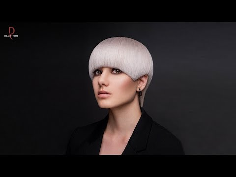 SASSOON DEMETRIUS | Стрижка Сессон на короткие волосы | Женская текстурная стрижка Сассун | Сэссун