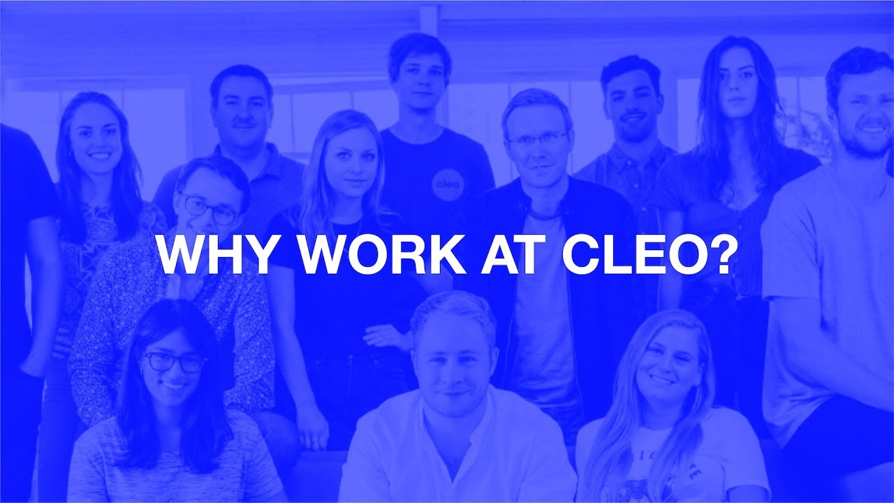 Cleo, an intelligent assistant for your money