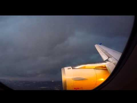 2015 10 09 Aborted Landing at BWI Airport Due to Thunderstorms