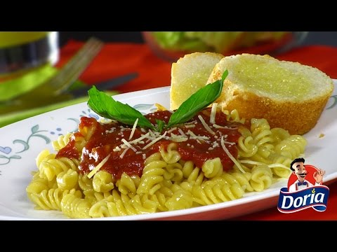 Tornillos Integral Doria en Salsa de Tomate