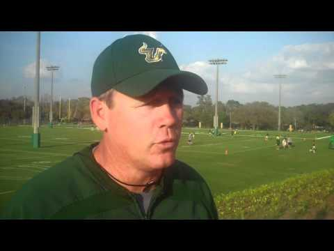USF Football: 3/21 - Mark Snyder Post-Practice Interview