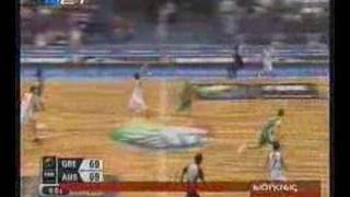Greece - Australia buzzer beater, FIBA Mundobasket 2006