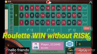 Roulette WIN without RISK On-line casino