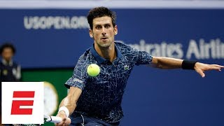 2018 US Open highlights: Novak Djokovic defeats Tennys Sandgren in Round 2 | ESPN