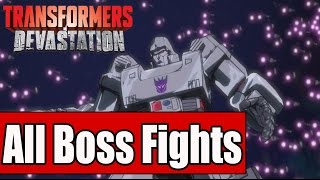 Transformers Devastation All Boss Fights and Ending