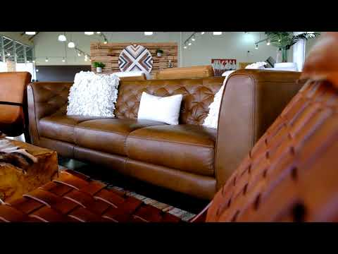 Houston Leather Sofa Collection