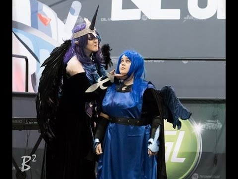 Nightmare Moon and Princess Luna Confrontation Skit - Lvl Up Expo Vegas 2016