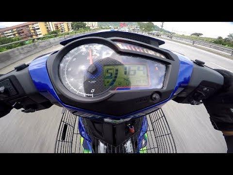 TOP SPEED Y15ZR SPEC 62 SPROCKET 14-41 GPS VS METER