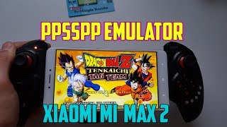 Xiaomi Mi Max 2 PPSSPP 1.4.2 test PSP games Snapdragon 625/Adreno 506/Android 7
