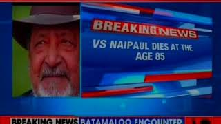 Nobel Prize winner author V.S. Naipaul dies at the age of 85