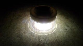 Lampu Tidur Portable dari Batere HP