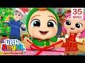 Hari Natal Bersama Baby John🎄🎁Kartun Anak | Little Angel Bahasa Indonesia